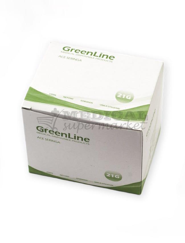 ace seringa 21G marca greenline