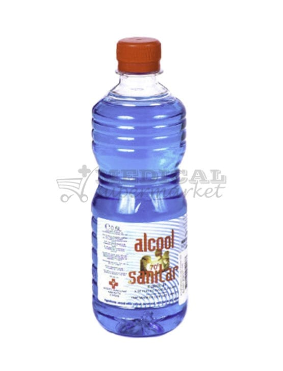 Alcool sanitar 70°, alcool sanitar