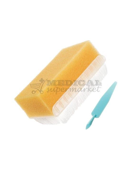 Periuta chirurgicala Medbar cu clorhexidina, Periuta chirurgicala cu iod povidona, Periuta chirurgicala cu iod povidone sau clorhexidina