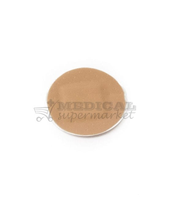 Plasturi rotunzi SafePlast cu rivanol, plasturi rotunzi cu rivanol, 22mm, marca safeplast