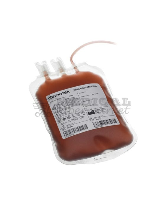 Punga recoltare sange 250ml, marca Demotek, Punga recoltare sange 450ml, marca Demotek, pungi simple pentru recoltare sange, marca demotek