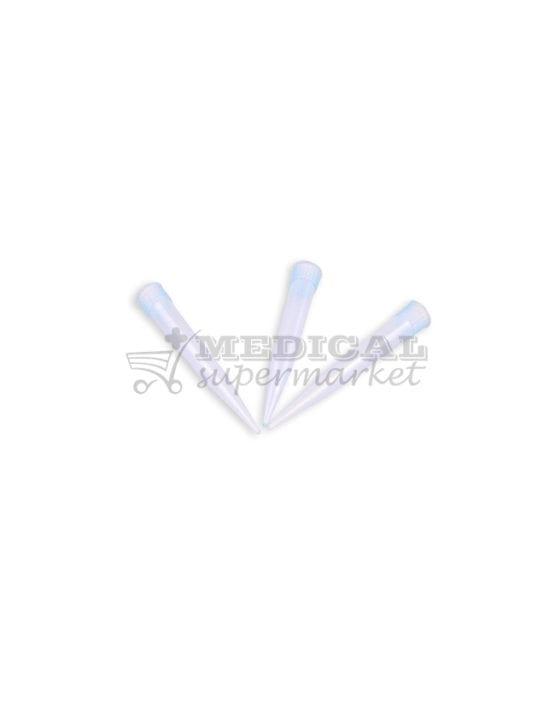 Varfuri pipeta tip Eppendorf, culoare albastra, varfuri albastre tip eppendorf pentru pipeta
