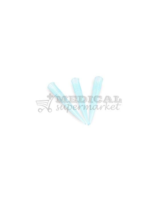 Varfuri pipeta tip Gilson, culoare albastra, varfuri albastre tip gilson pentru pipeta