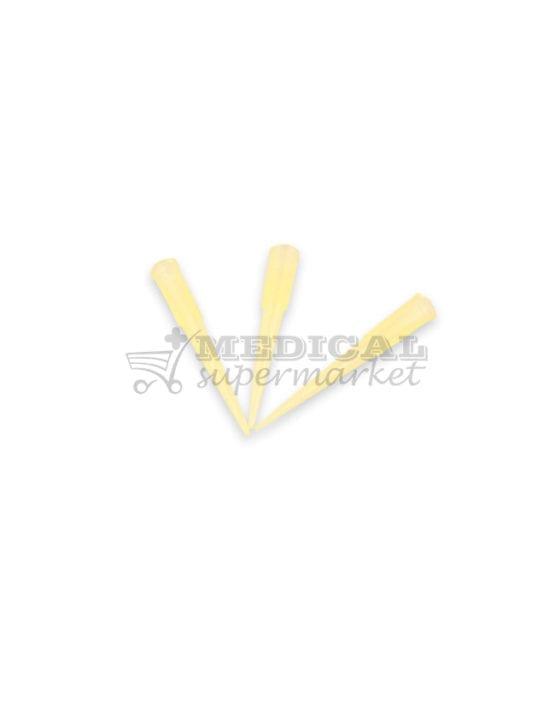 Varfuri pipeta tip Gilson, culoare galbena, varfuri galbene tip gilson pentru pipeta