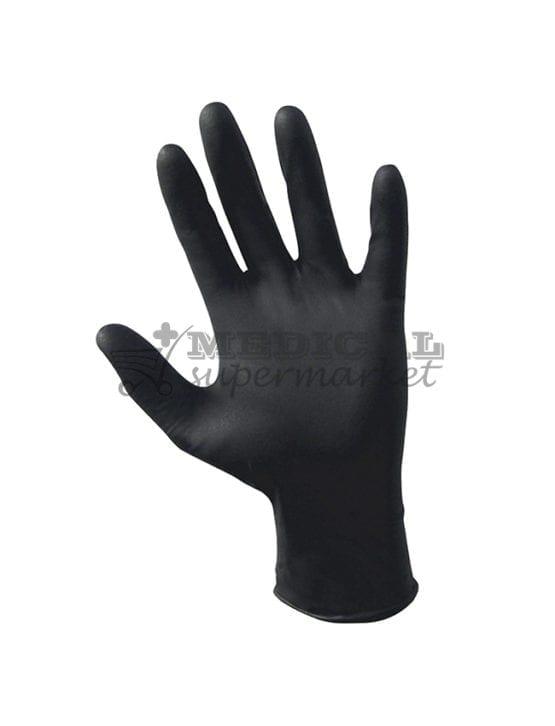 Manusi nitril nepudrate Demotek manusi examinare nitril culoare neagra marca demotek