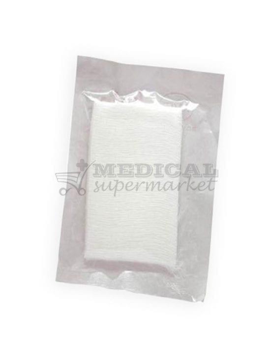 Comprese sterile din tifon 10cm x 8cm x 48 straturi