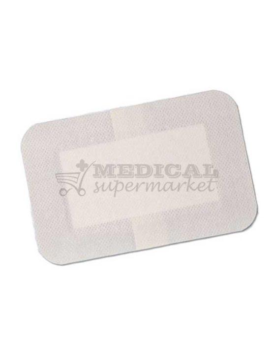 Plasture pe suport de material netesut si corp absorbant