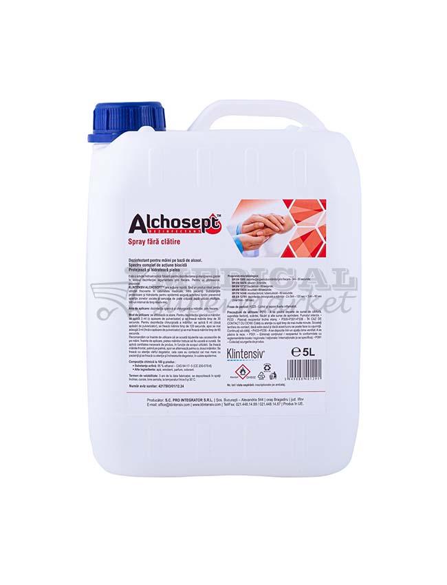 Alchosept Dezinfectant spray pentru maini si tegumente 5L